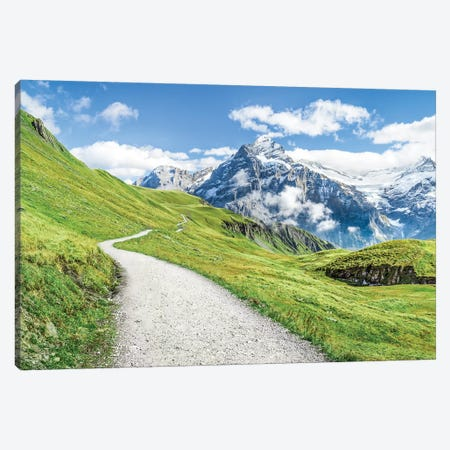 Grindelwald In The Swiss Alps Canvas Print #JNB252} by Jan Becke Canvas Wall Art