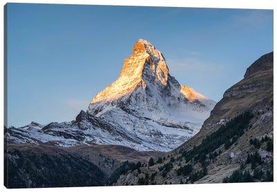 Matterhorn Peak At Sunrise Canvas Art Print