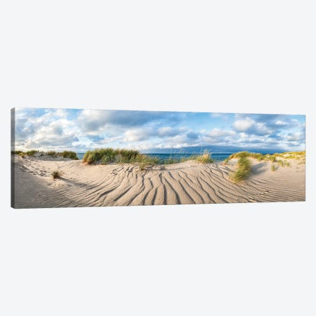 Sand Dunes At The North Sea Coast Canvas Print #JNB274} by Jan Becke Canvas Print