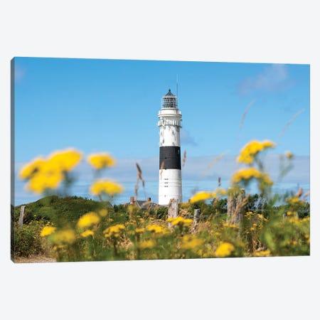 Lighthouse Kampen In Summer Canvas Print #JNB304} by Jan Becke Art Print