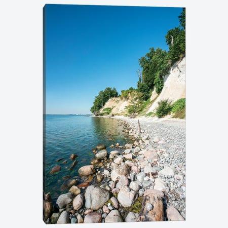 Chalk Cliffs On The Island Of Rügen 3-Piece Canvas #JNB342} by Jan Becke Canvas Wall Art
