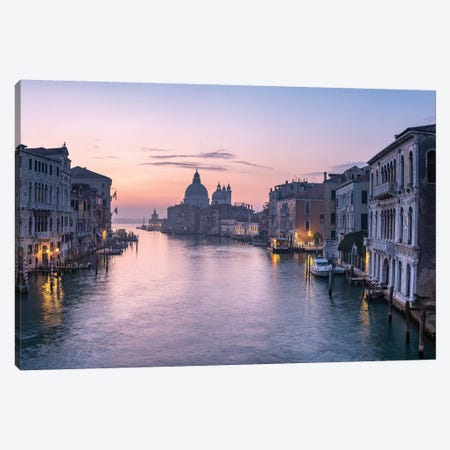 Grand Canal Canvas Print #JNB39} by Jan Becke Canvas Artwork