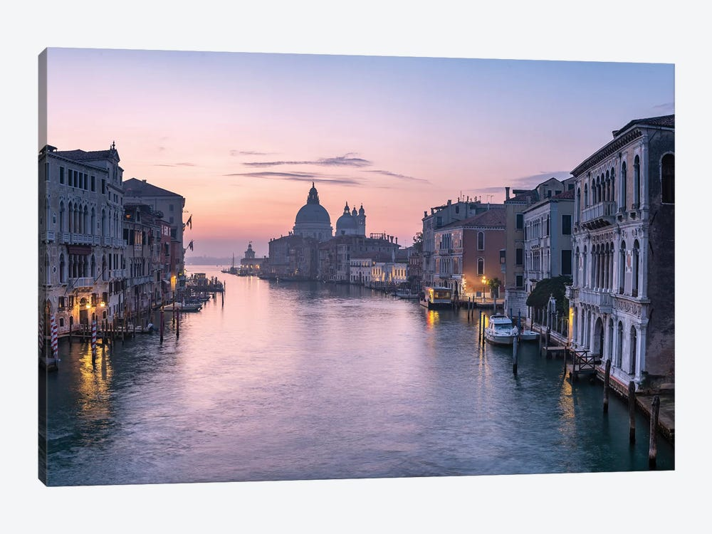Grand Canal by Jan Becke 1-piece Canvas Print