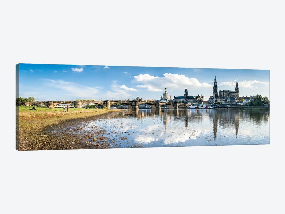 Dresden skyline panorama by Jan Becke 1-piece Canvas Art