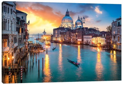 Grand Canal I Canvas Art Print