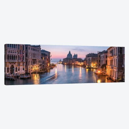 Grand Canal In Venice, Italy Canvas Print #JNB48} by Jan Becke Art Print