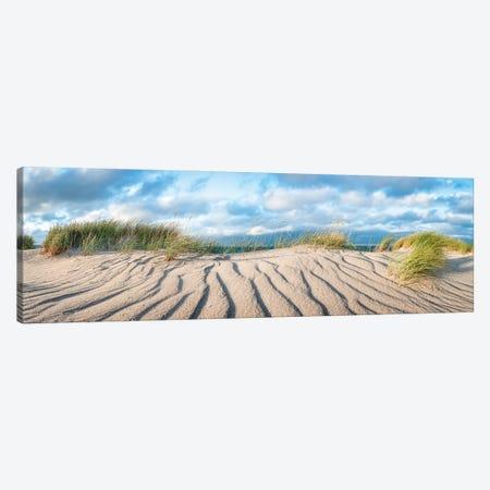 Dune panorama at the North Sea coast Canvas Print #JNB493} by Jan Becke Canvas Artwork