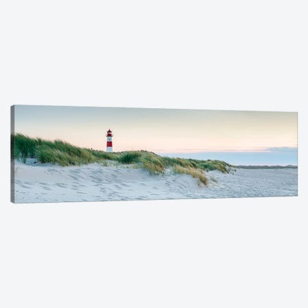Lighthouse List Ost at the North Sea coast, Schleswig-Holstein, Germany Canvas Print #JNB497} by Jan Becke Canvas Print