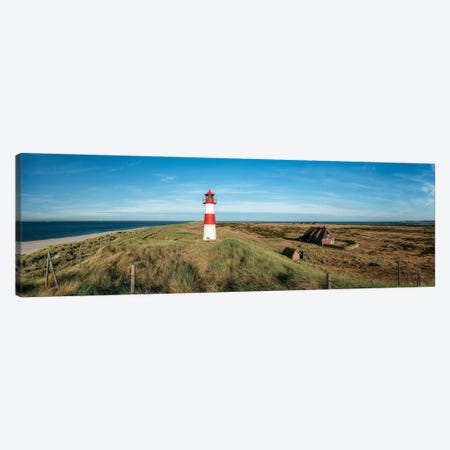 Lighthouse List Ost, Sylt, Germany Canvas Print #JNB500} by Jan Becke Canvas Artwork