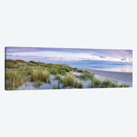Dune beach panorama, Sylt, Schleswig-Holstein, Germany Canvas Print #JNB501} by Jan Becke Canvas Art