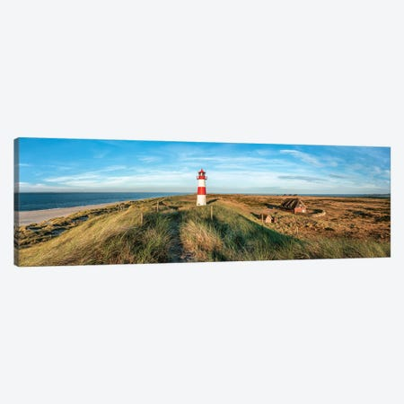 Lighthouse List Ost panorama, Island of Sylt, Schleswig-Holstein, Germany Canvas Print #JNB503} by Jan Becke Canvas Art