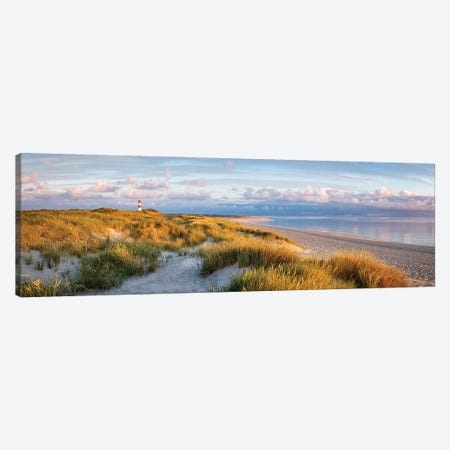 Panoramic view of a dune beach on the island of Sylt, Schleswig-Holstein, Germany Canvas Print #JNB509} by Jan Becke Canvas Wall Art
