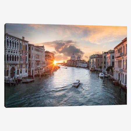 Grand Canal, Venice I Canvas Print #JNB50} by Jan Becke Canvas Artwork