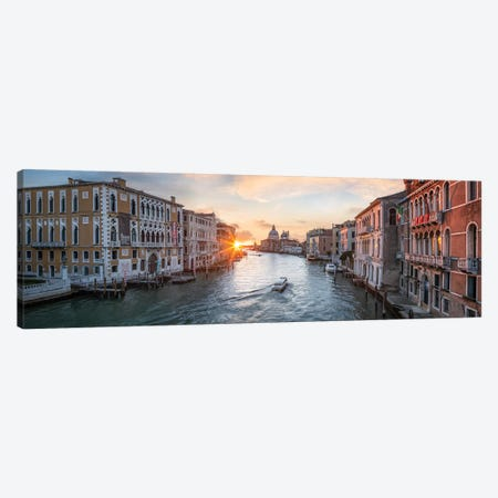 Grand Canal, Venice II Canvas Print #JNB51} by Jan Becke Canvas Artwork