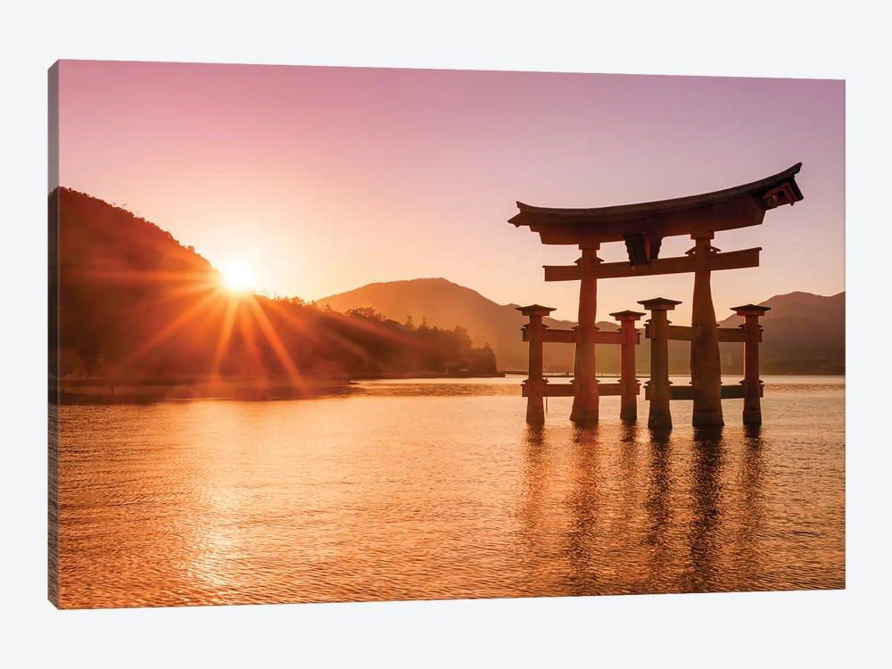 Great Torii Of Miyajima by Jan Becke 1-piece Canvas Wall Art