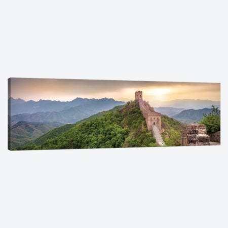 Great Wall Of China Near Jinshanling Canvas Print #JNB54} by Jan Becke Canvas Print