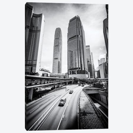 Two International Finance Centre in Hong Kong Canvas Print #JNB551} by Jan Becke Canvas Print
