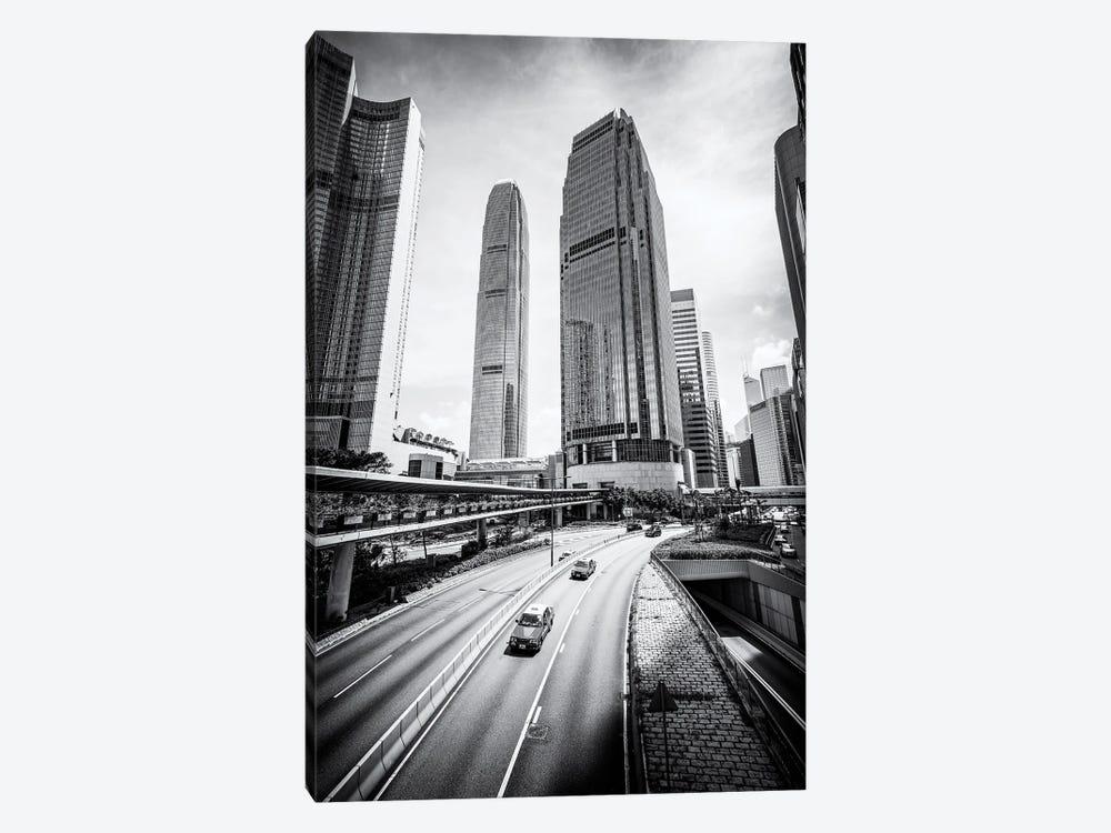 Two International Finance Centre in Hong Kong by Jan Becke 1-piece Canvas Art Print
