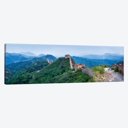 Great Wall Of China Simatai Section Canvas Print #JNB55} by Jan Becke Canvas Art Print
