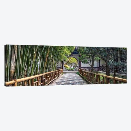 Classical Chinese garden in Suzhou, China Canvas Print #JNB564} by Jan Becke Art Print