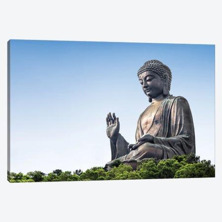 Tian Tan Buddha at Ngong Ping, Lantau Island, Hong Kong, China Canvas Print #JNB568} by Jan Becke Canvas Art