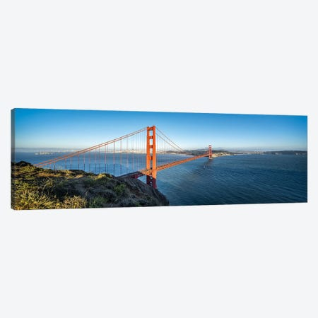 Golden Gate Bridge in San Francisco, California, USA Canvas Print #JNB571} by Jan Becke Canvas Art Print