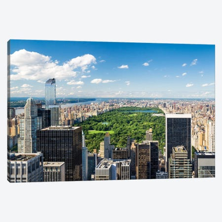 Central Park in New York City, USA Canvas Print #JNB576} by Jan Becke Canvas Artwork