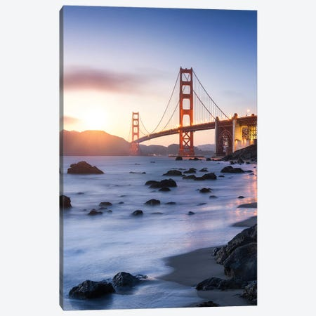 Golden Gate Bridge in San Francisco, USA Canvas Print #JNB579} by Jan Becke Art Print