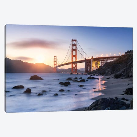 Golden Gate Bridge, San Francisco, USA Canvas Print #JNB581} by Jan Becke Canvas Wall Art