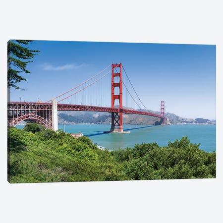 Golden Gate Bridge in San Francisco Canvas Print #JNB585} by Jan Becke Art Print