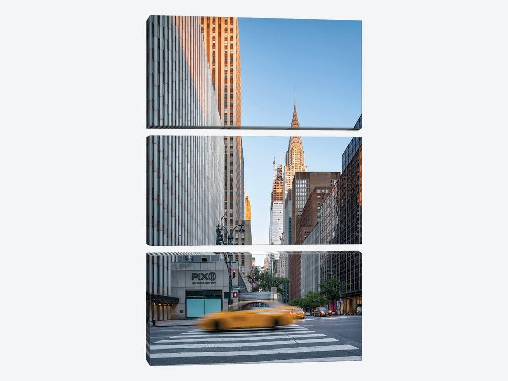 Chrysler Building at sunrise, Midtown Manhattan by Jan Becke 3-piece Canvas Art