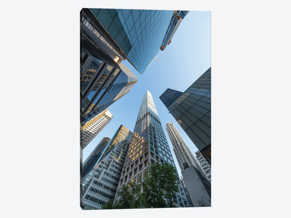 432 Park Avenue, Midtown, Manhattan by Jan Becke 1-piece Canvas Artwork