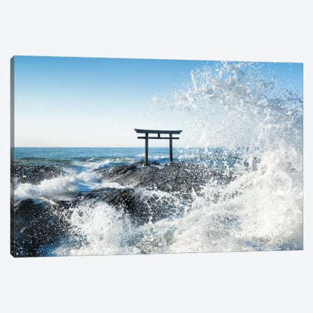 Isosaki Shrine Canvas Print #JNB65} by Jan Becke Canvas Artwork