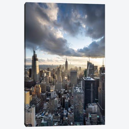 Empire State Building And Manhattan Skyline, New York City, USA Canvas Print #JNB693} by Jan Becke Canvas Art