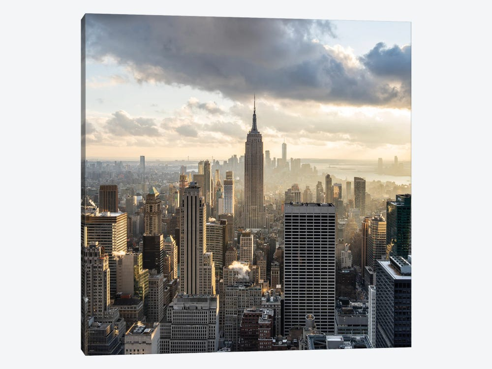 Empire State Building Seen From Rockefeller Center by Jan Becke 1-piece Art Print