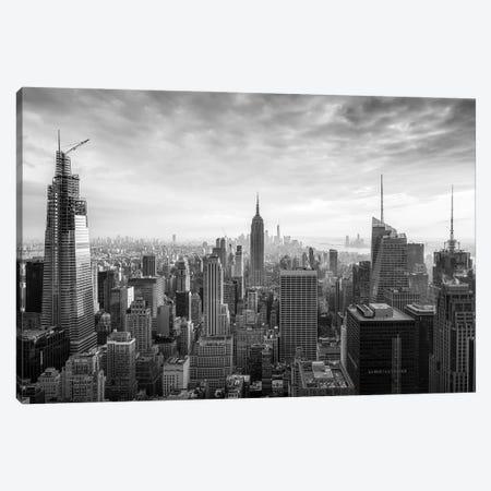 New York City Black And White Canvas Print #JNB706} by Jan Becke Canvas Print