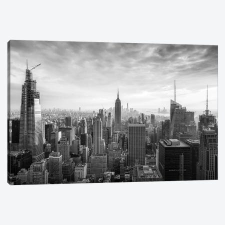New York City Black And White Canvas Print #JNB706} by Jan Becke Canvas Print