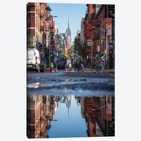 Little Italy, New York City, USA Canvas Print #JNB714} by Jan Becke Canvas Wall Art