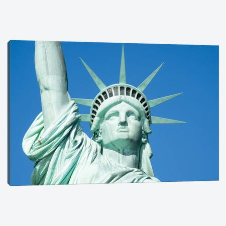 Statue Of Liberty's Crown Canvas Print #JNB749} by Jan Becke Canvas Art
