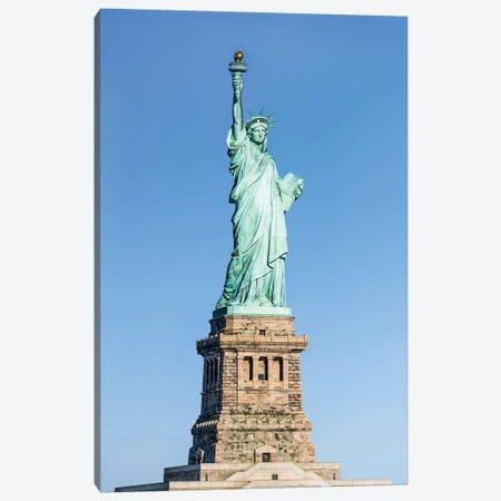 Statue Of Liberty On Liberty Island Canvas Print #JNB750} by Jan Becke Canvas Print