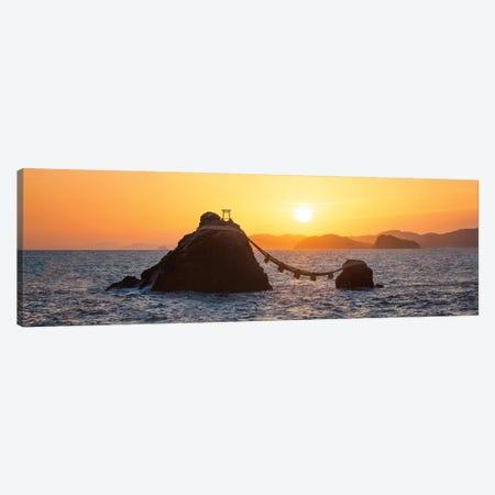 Meoto-Iwa Rocks At Sunrise Canvas Print #JNB77} by Jan Becke Canvas Print