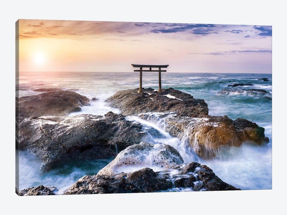 Oarai Isosaki Shrine by Jan Becke 1-piece Art Print