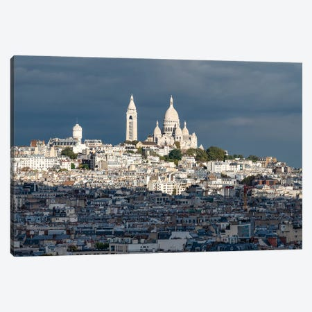 Basilica Sacré-Cœur Canvas Print #JNB7} by Jan Becke Canvas Art