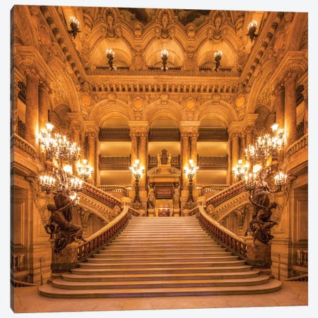Opera House Palais Garnier Canvas Print #JNB80} by Jan Becke Canvas Print