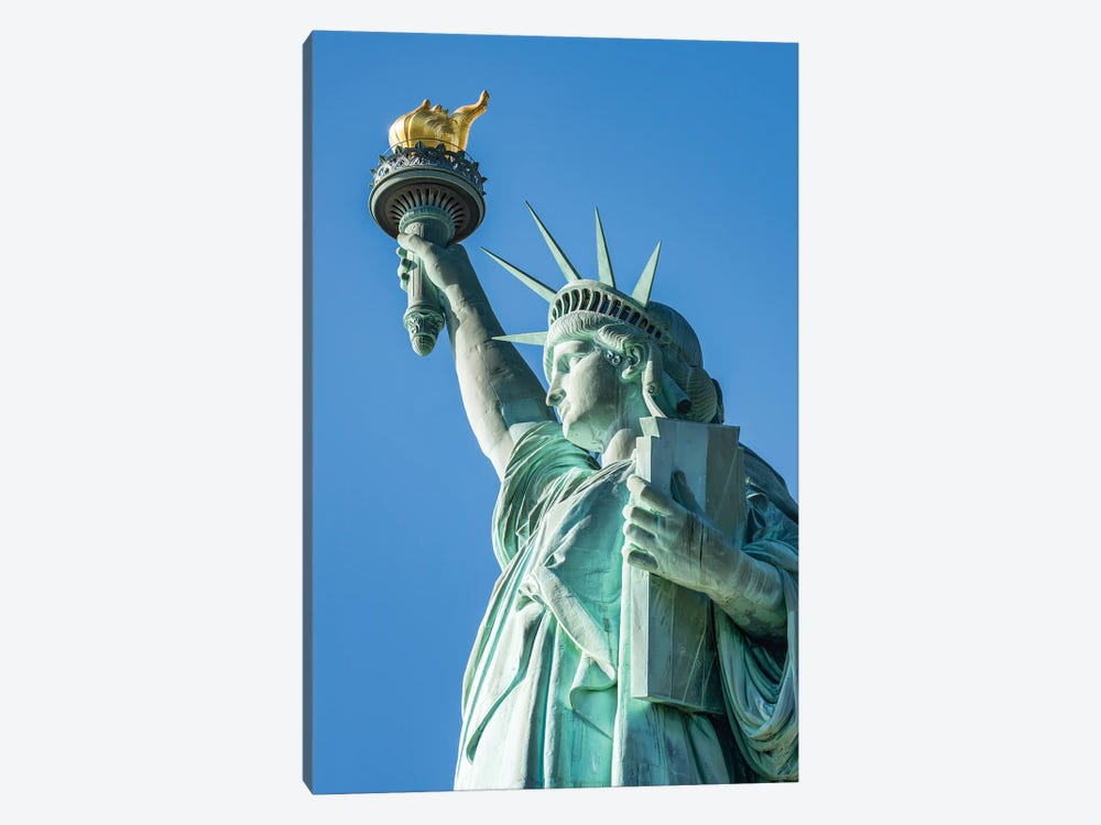 Statue Of Liberty, Liberty Island, New York City, USA by Jan Becke 1-piece Art Print
