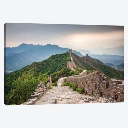 Great Wall Near Jinshanling, China Canvas Print #JNB822} by Jan Becke Canvas Art Print