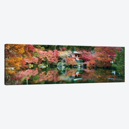 Panoramic View Of The Daigo-Ji Temple In Autumn, Kyoto, Japan Canvas Print #JNB845} by Jan Becke Canvas Art