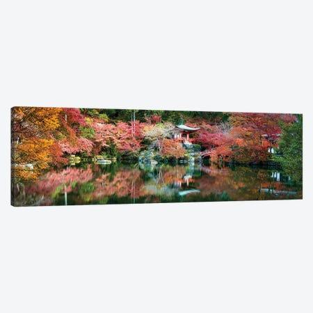 Panoramic View Of The Daigo-Ji Temple In Autumn, Kyoto, Japan Canvas Print #JNB845} by Jan Becke Canvas Art