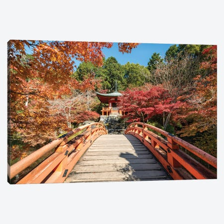 Daigo-Ji Temple In Autumn, Kyoto, Japan Canvas Print #JNB846} by Jan Becke Canvas Wall Art
