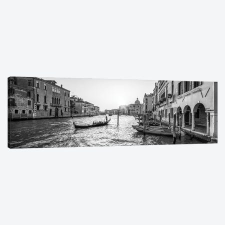 Gondola Ride Along The Grand Canal In Venice, Italy Canvas Print #JNB848} by Jan Becke Canvas Art Print